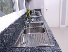 cozinha azul noroega